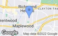 Map of Richmond Heights, MO