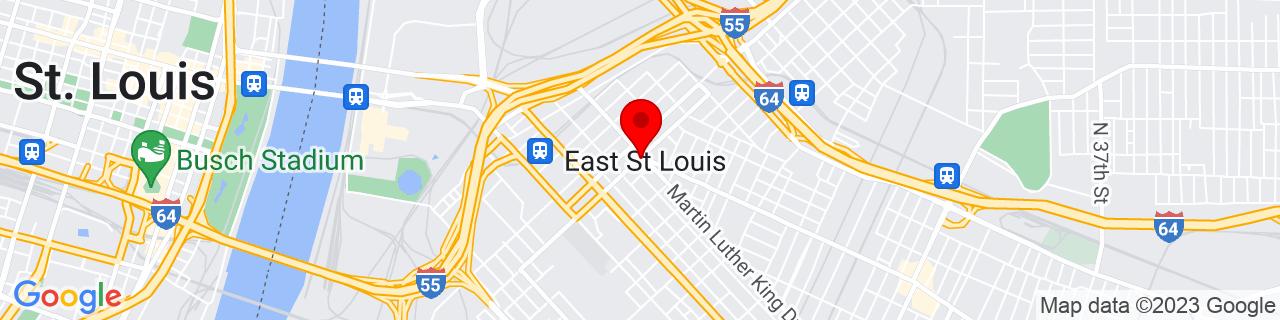 Google Map of 38.62444444444444, -90.15083333333334