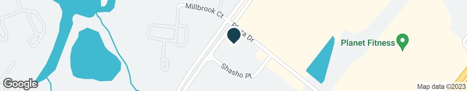 Google Map of2970 SHASHO PL