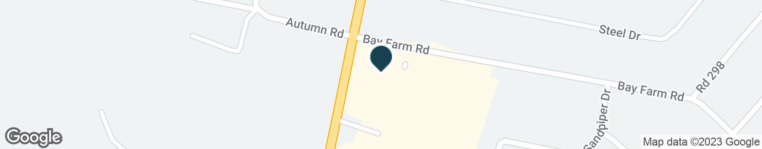 Google Map of26191 JOHN J WILLIAMS HWY