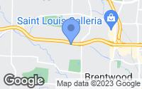 Map of Ladue, MO