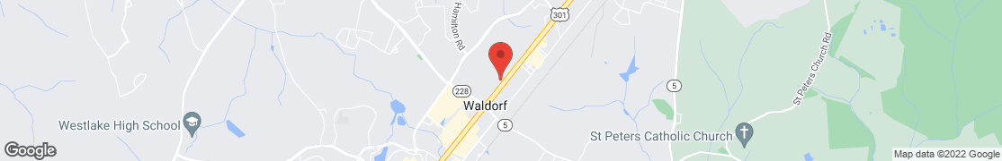 Map of 2975 Crain Highway in Waldorf