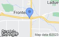 Map of Frontenac, MO