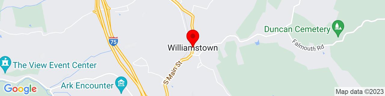 Google Map of 38.6381245, -84.5604977
