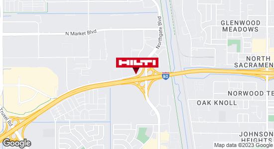 Get directions to Hilti Store Sacramento