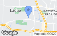 Map of St. Louis, MO