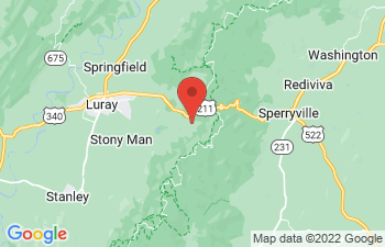 Map of Luray