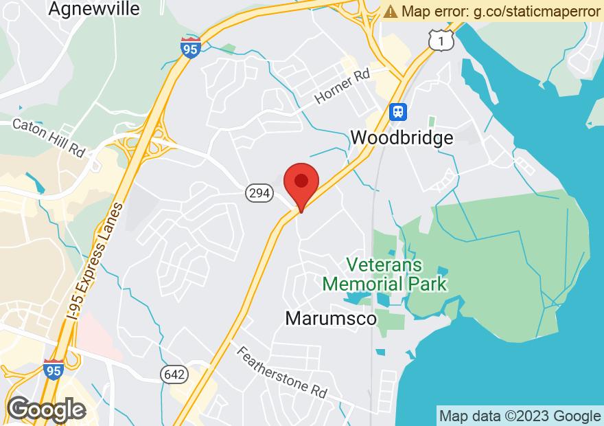 Google Map of 14095 JEFFERSON DAVIS HWY