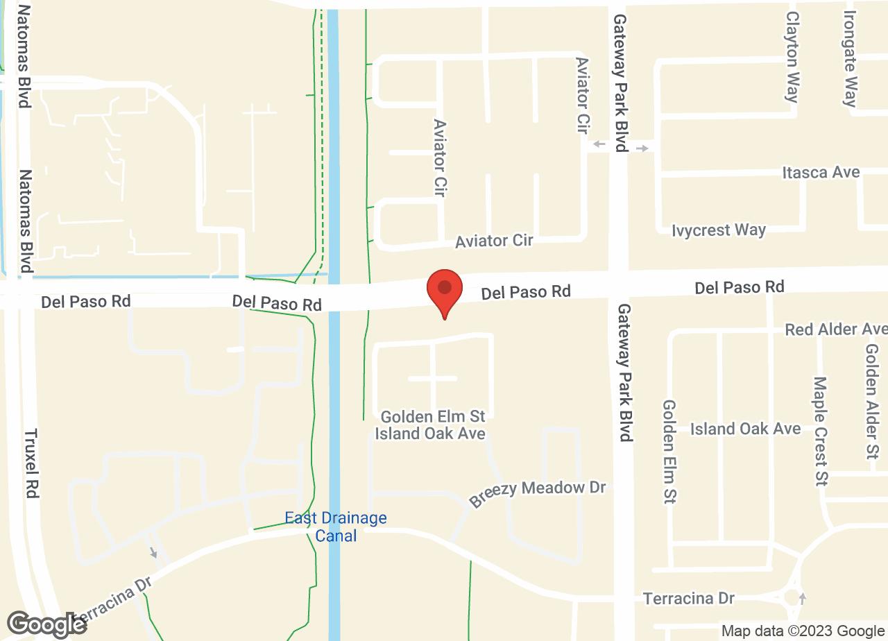 Google Map of VCA Natomas Animal Medical Center