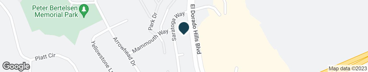 Google Map of8230 SARATOGA WAY