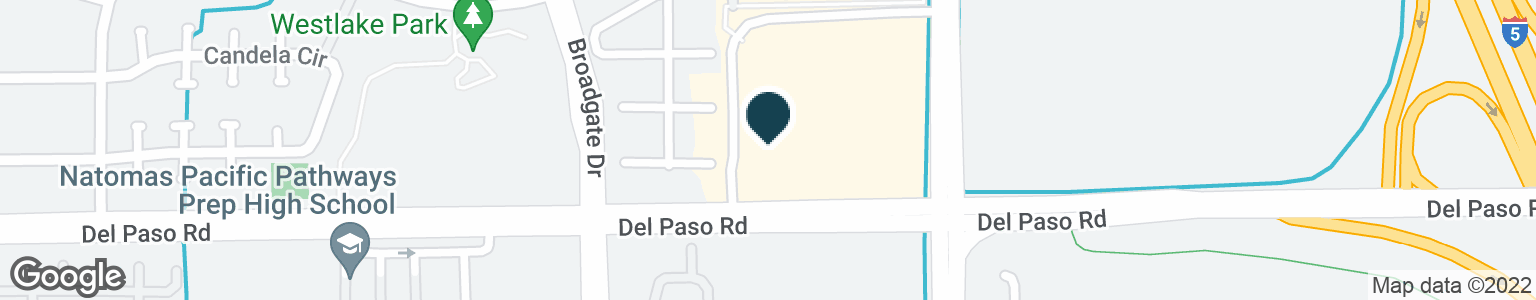 Google Map of3521 DEL PASO RD