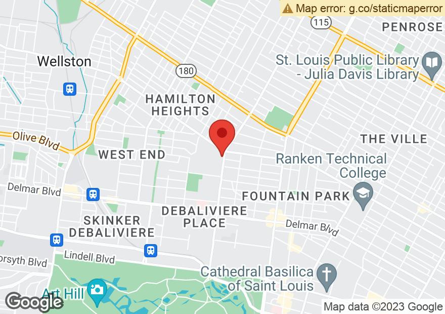 Google Map of 1225 UNION BLVD