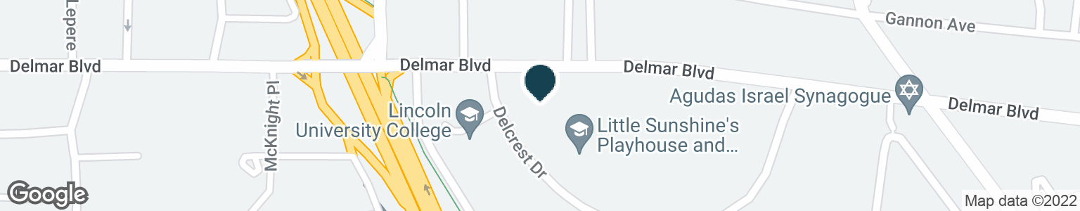 Google Map of8390 DELMAR BLVD