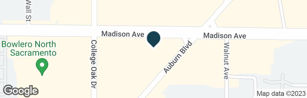 Google Map of5020 MADISON AVE