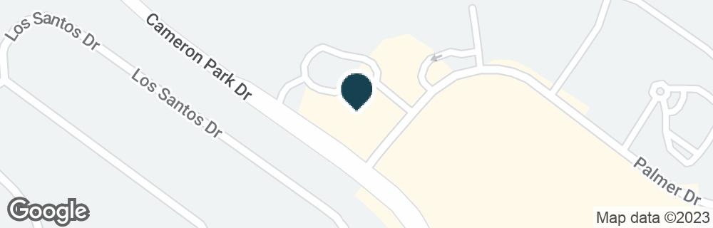 Google Map of4014 PLAZA GOLDORADO CIR