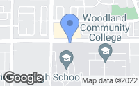 Map of Woodland, CA