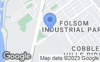 Map of Folsom, CA