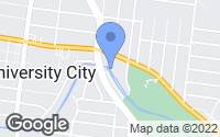 Map of University City, MO