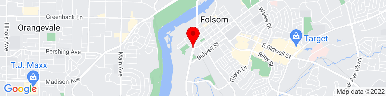 Google Map of 38.6714894, -121.181967