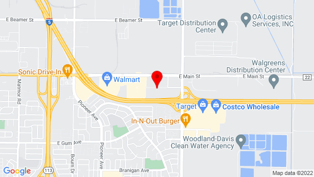 Google Map of 1962 Hays Lane, Woodland, CA 95776