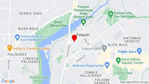 Google Map of 905 Sutter Street, Folsom, CA 95630