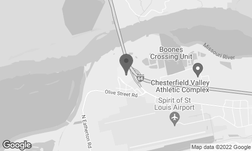 Map of 18511 Outlet Blvd in Chesterfield