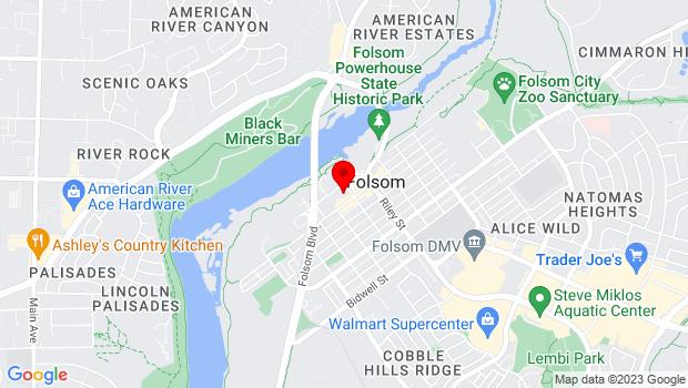 Google Map of 200 Wool Street, Folsom, CA 95630