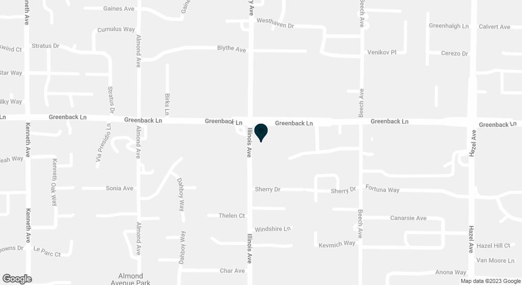 6132 Illinois Avenue Orangevale CA 95662