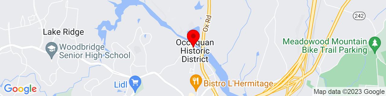 Google Map of 38.6843404, -77.260772
