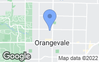 Map of Orangevale, CA