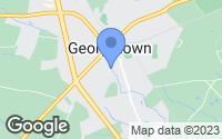 Map of Georgetown, DE