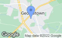Map of Georgetown, DE