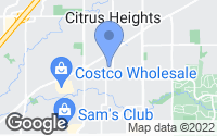 Map of Citrus Heights, CA