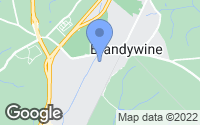 Map of Brandywine, MD