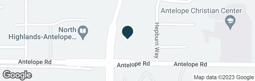 Google Map of4331 ANTELOPE RD