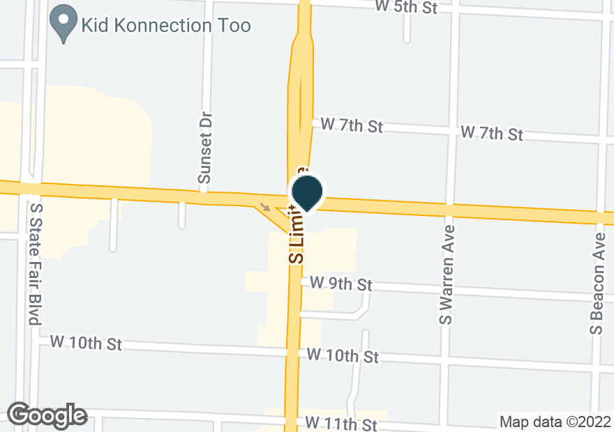 Google Map of801 S LIMIT AVE