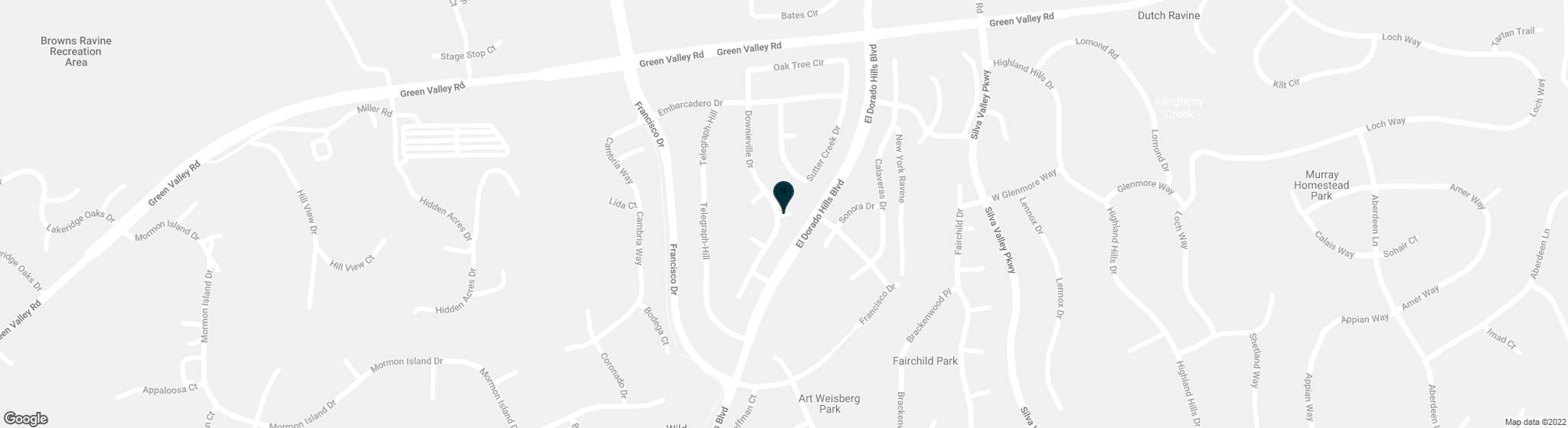 0 Lot 120 Del Coronado Court El Dorado Hills CA 95762