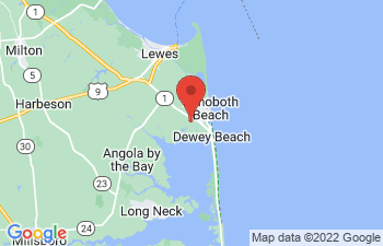 Map of Rehoboth Beach