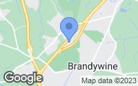 Map of Brandywine, MD