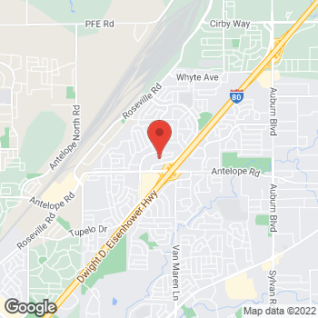 Map of Check `n Go at 7887 Lichen Drive, Citrus Heights, CA 95621