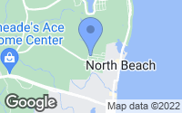 Map of North Beach, MD