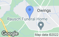 Map of Owings, MD