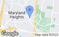 Map of Maryland Heights, MO