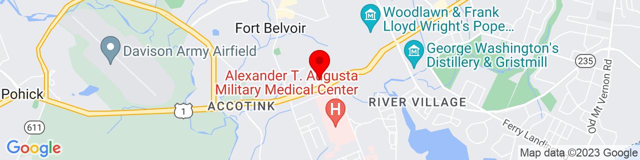 Google Map of 38.7119, -77.14589