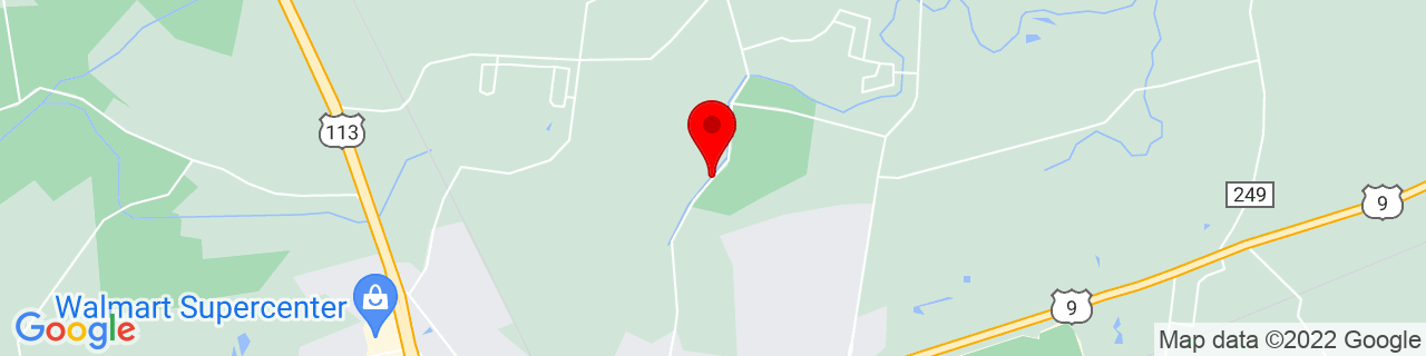 Google Map of 38.7121753, -75.3784696