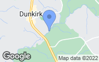 Map of Dunkirk, MD