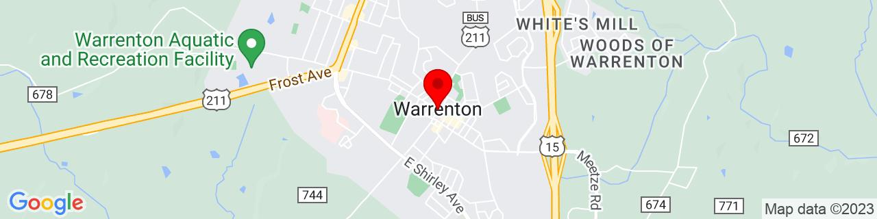 Google Map of 38.71333333333334, -77.79527777777777