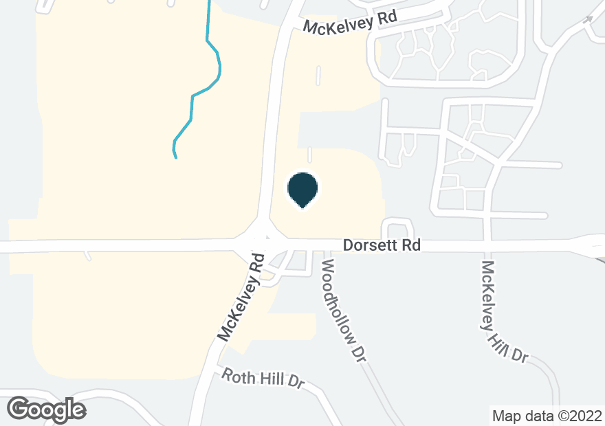 Google Map of12509 DORSETT RD