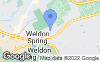 Map of Weldon Spring, MO