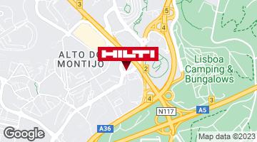 Get directions to Loja Hilti de Alfragide